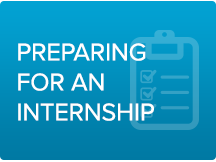 Preparing for an intership