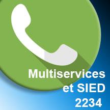 APPEL MUTLISERVICES ET SIED - 2234