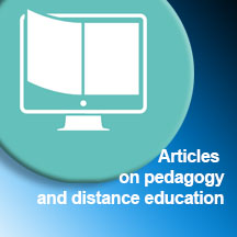 ARTICLES ON PEDAGOGY AND DISTANCE EDUCATION