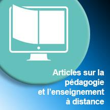 ARTICLES PÉDAGOGIQUE ET ENSEIGNEMENT DISTANCE