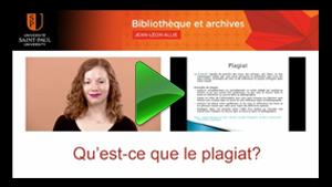 Sandy Hervieux de la Bibliothèque et Archives Jean-Léon Allie