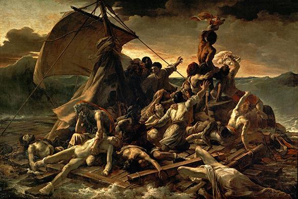 Le Radeau de la Méduse de Géricault