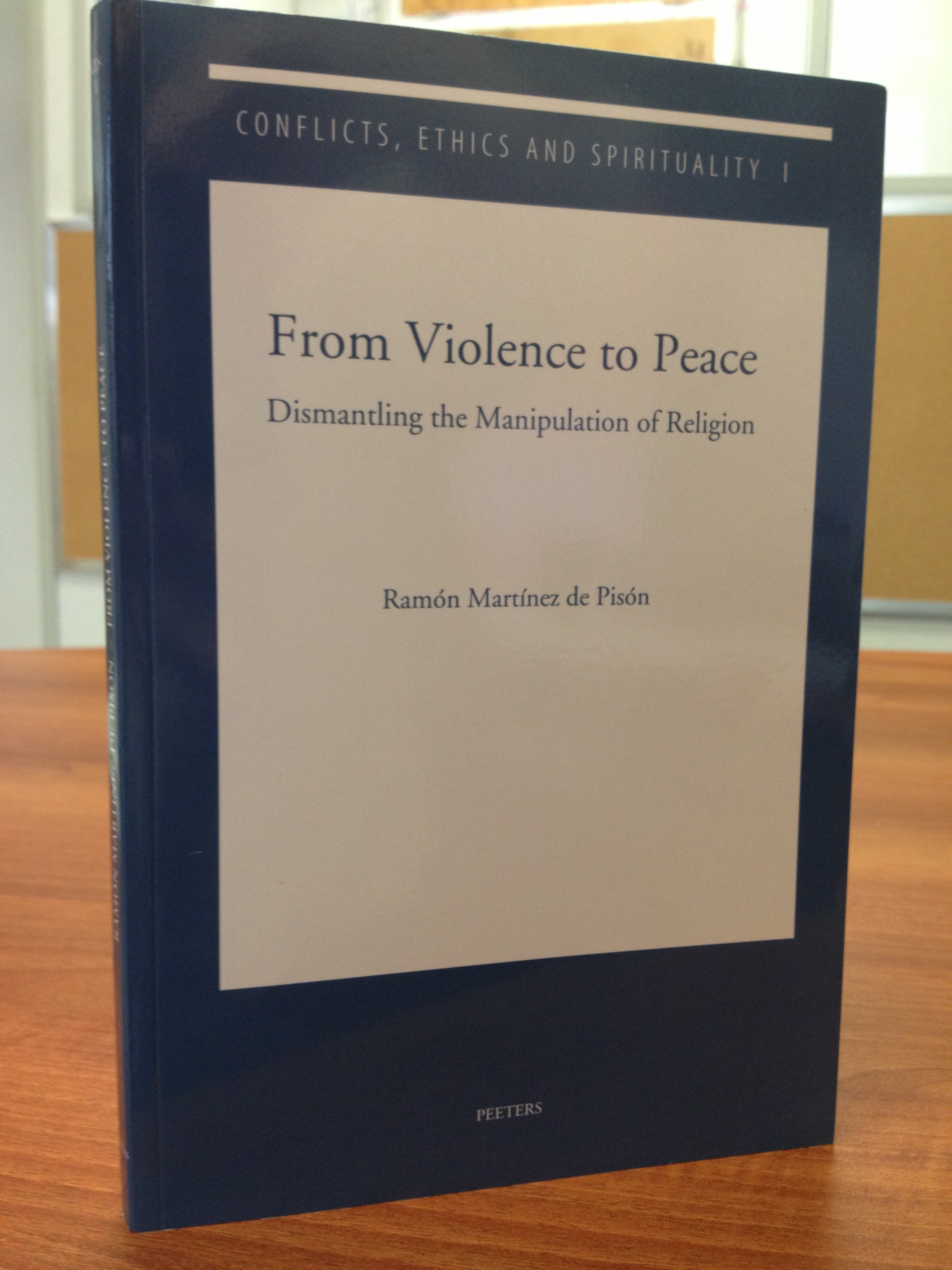 From violence to peace Book