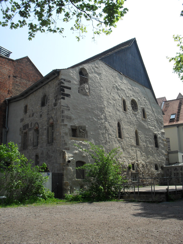 the old synagogue in Erfurt