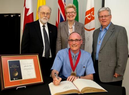 Eugene de Mazenod Medal to John Joe Gunn 2017