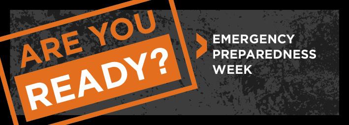 Kinder Garden: Are You Ready? Emergency Preparedness Week