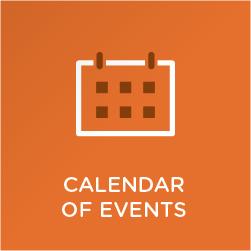 Calendar of events Orientation 2016