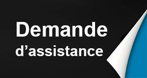 Demande d'assistance barrette à bascule