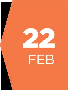 22 february