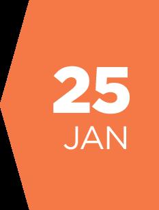 25 january