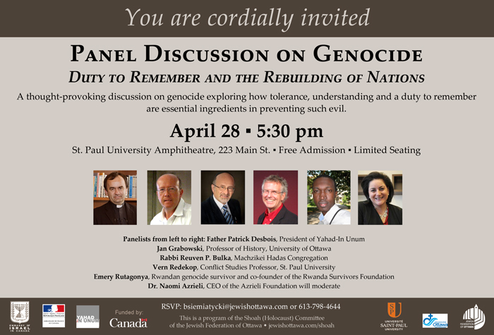 Panel Discussion on Genocide
