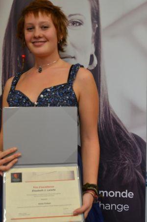 Elisabeth J. Lacelle Award