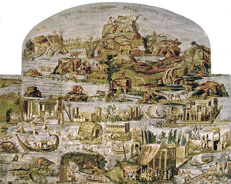 Mosaic of Palestrina
