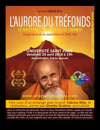 Screening of the film L'Aurore du tréfonds