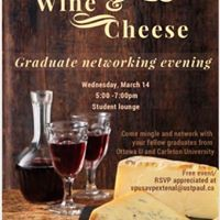 Wine and cheese (networking activity for alumni)